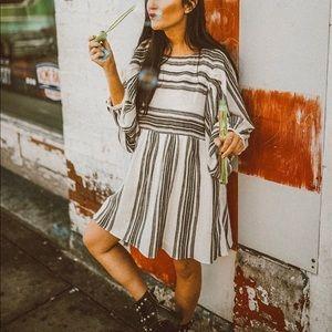 Free People Inspired Stripe Dress